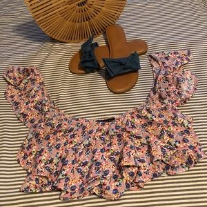 LF crop top size small